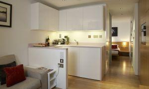 Квартира — студия 22-23 кв. м: дизайн, варианты цветов расстановки мебели