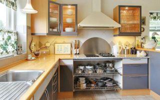 Нюансы планировки кухни буквой П: лучшие решения дизайна, реальные фото