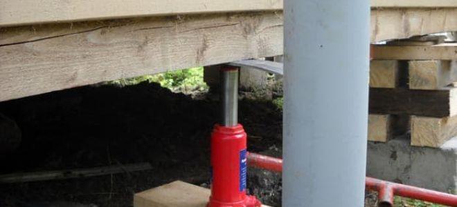 Как подвести и восстановить фундамент у старого дома: соблюдение этапов грамотной реконструкции
