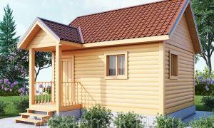 Выбор дачного дома 4 на 4: простая планировка и экономичное строительство