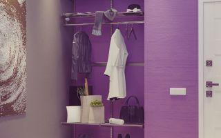 Лучшие варианты гардеробной в прихожей: встроенная, открытая, угловая