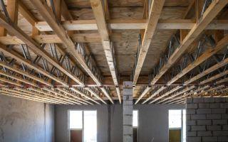 Виды и строительство перекрытий в частном доме: важные аспекты