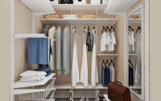 Как из кладовки сделать гардеробную: варианты и лучшие идеи, реальные примеры.