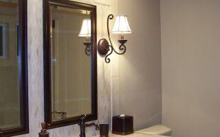 Бра в ванной комнате: как выбирать и куда ставить?