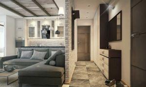Дизайн квартиры 42 кв.м: зонирование и фото готовых решений