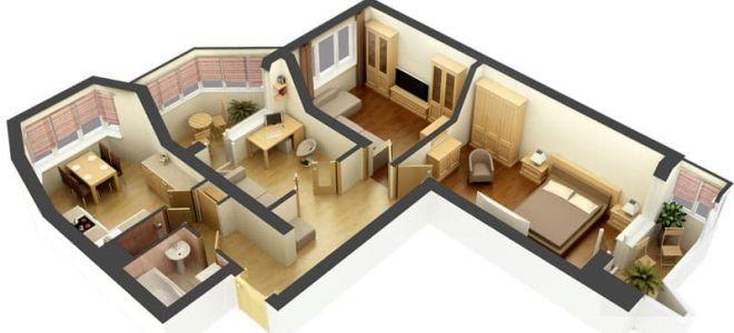 3-комнатная квартира: планировка, особенности и рекомендации