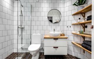Ванная комната в скандинавском стиле: идеи дизайна, выбор интерьера
