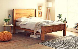 Как выбрать материал исполнения кровати