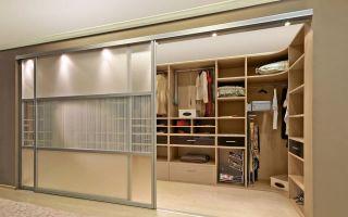 Гардеробные шкафы-купе для одежды: лучшие решения и дизайн-проекты