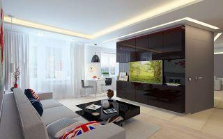 Преображение квартиры 44 кв. м при помощи дизайнерских и стилистических решений