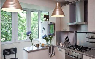 Кухня совмещенная с балконом: необычные идеи и советы по перепланировке