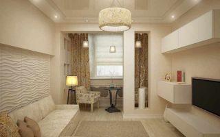 Зонирование комнаты на спальню и гостиную 17 кв. м: нюансы планировки и дизайна