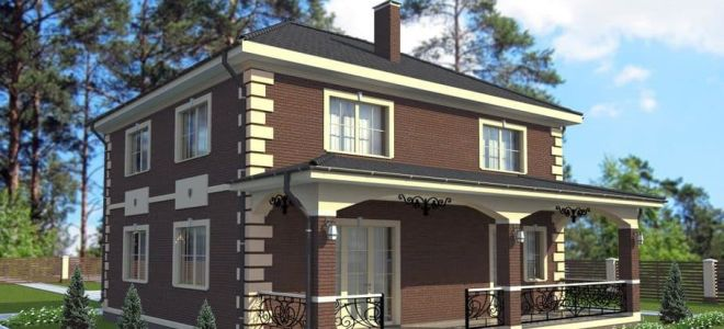 Популярные проекты двухэтажных домов 10 на 10: принципы грамотной планировки