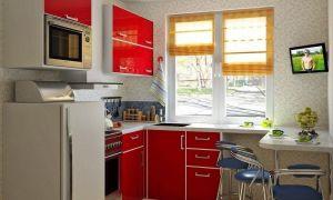 Планировка малогабаритной кухни 5 кв. м: лучшие идеи, дизайн в реальной квартире