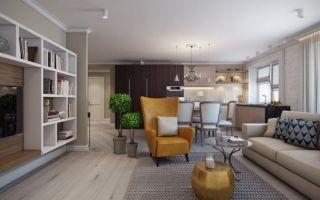 Современная квартира 80 кв. м для большой семьи: с чего начать ремонт, особенности дизайна каждой комнаты