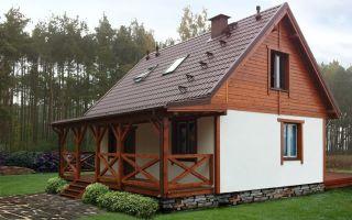 Проекты дачных домов с мансардой: преимущества и особенности