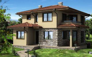 Проект домов и коттеджей в европейском стиле: характерные черты и особенности