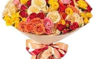 Доставка цветов – основные преимущества