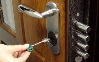 Как выбрать замок для входной двери