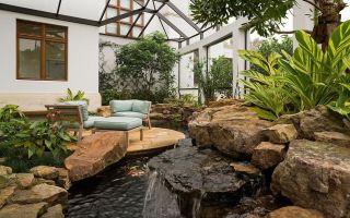 Зимний сад в частном доме: конструкция пристройки, системы для ухода за растениями