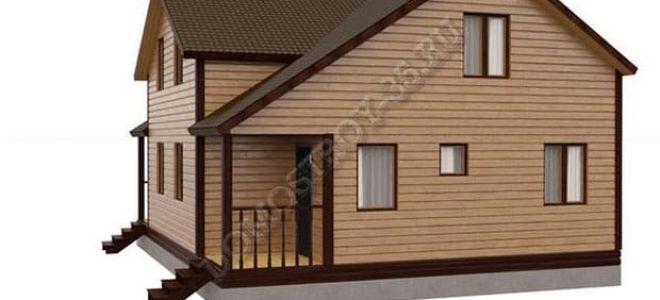 Планировка дома 8 на 10: особенности строительства и использования пространства