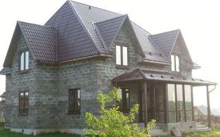 Дома из арболита: особенности технологии строительства, плюсы и минусы