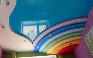 Как выбрать цвет натяжного потолка правильно