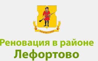 Реновация в районе Лефортово