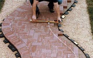 Нюансы укладки тротуарной плитки
