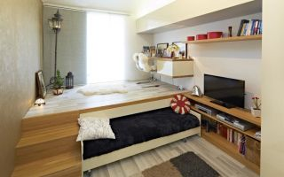 Подиум для спальни