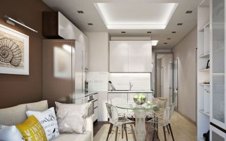 Лучшие варианты совмещения кухни и гостиной 18 кв. м: фото интерьера