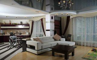 Планировка кухни-гостиной 25 кв. м: хитрости дизайна и интерьера