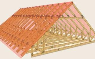 Как правильно сделать чертеж крыши