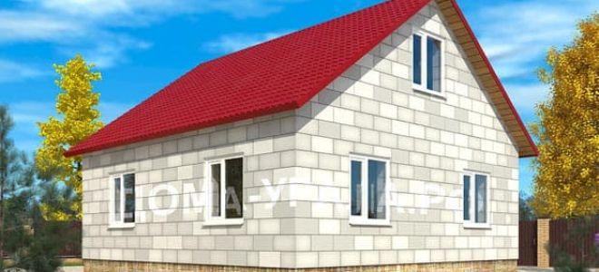 Особенности строительства дома из пеноблоков: преимущества материала и его характеристики
