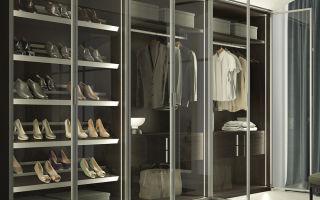 Возможности современных гардеробных комнат