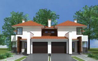 Как построить дом на 2 семьи: проекты и планировка