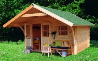Летний дом на дачу: выбор материала, строим своими руками
