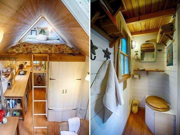 Маленький домик внутри