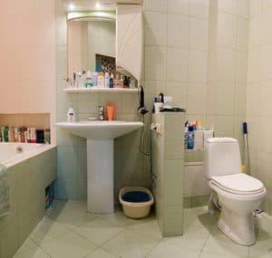 объединение санузла и ванной