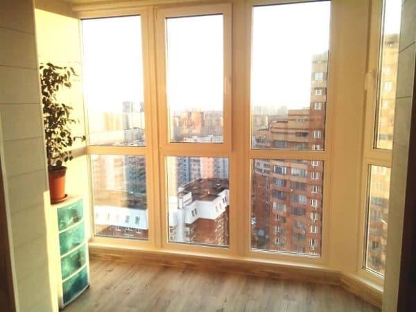 панорамные окна в доме