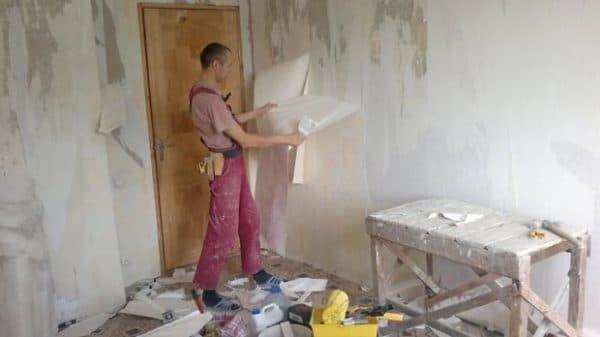 Черновые работы в квартире