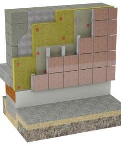 Наружная отделка и утепление дома из керамзита