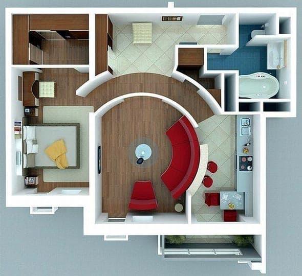 Визуальное увеличение пространства