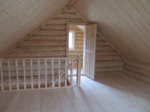 Лестничный узел в частном доме