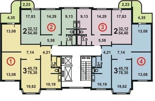 №1. План этажа