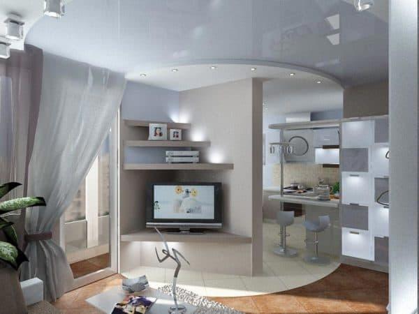 Зонирование квартиры со свободной планировкой