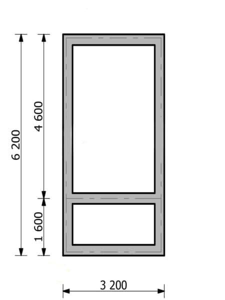 фундамент под баню 3х6