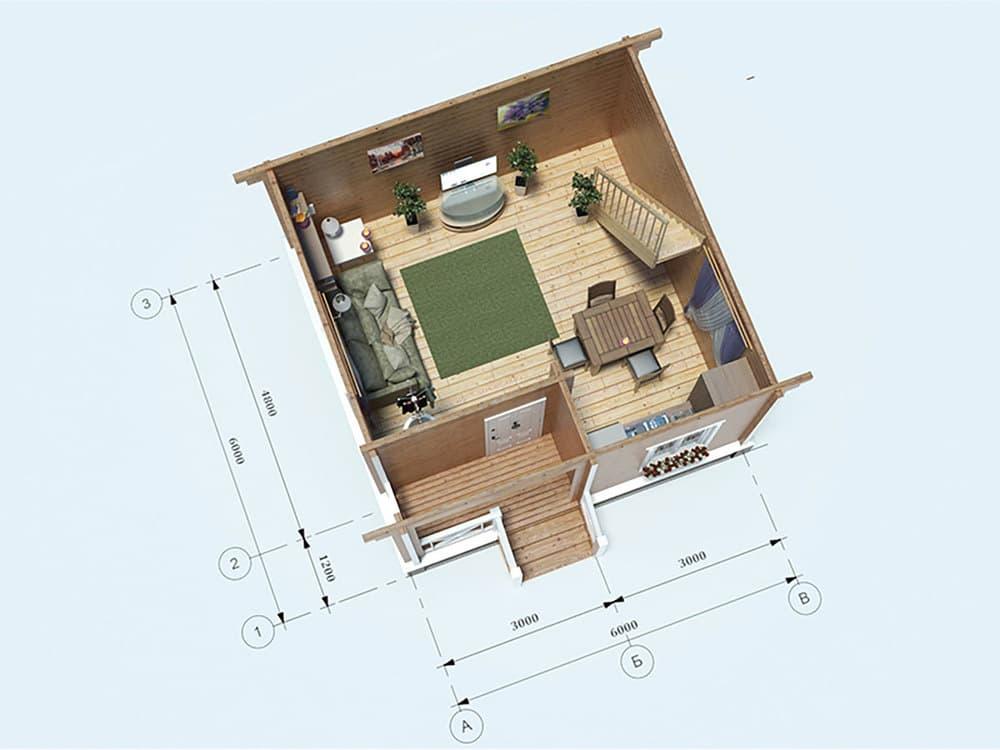 план дома с верандой фото северного речного вокзала