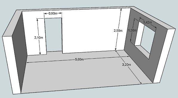 Минимальная высота потолка