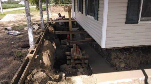 реконструкция фундамент